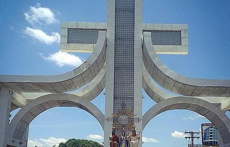 Santuário Divino Pai Eterno - Portal de trindade, cidade da fé