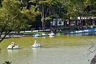 Vista do parque das águas