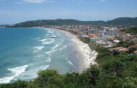 Que vista da Praia de Bombas