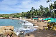 Praia de Calhetas - Linda!
