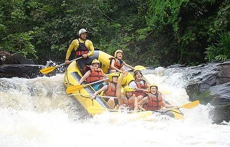 Rafting, bóia-cross, canoagem e acquaride - Rio Jacaré-Pepira. Imperdível!