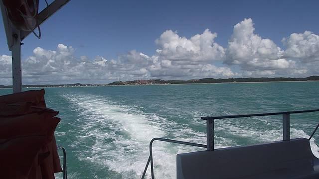 Passeio de barco, certamente inesquecível.