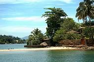 Um dos muitos lugares lindos  que podemos curtir durante o passeio pelas Ilhas