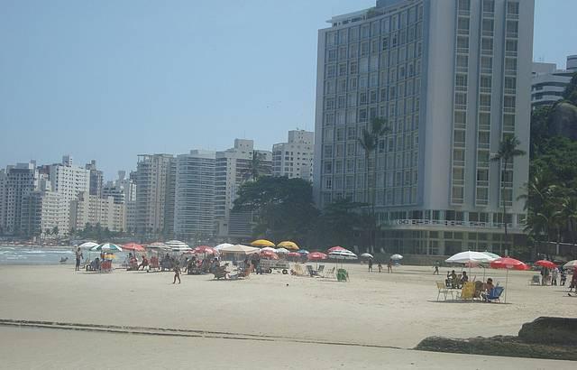 Fim de tarde no Guarujá