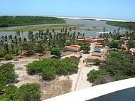 O Rio Pergui�as a caminho do mar