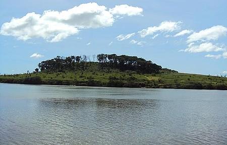 Rio Paranaíba - Do outro lado do rio : Minas Gerias.