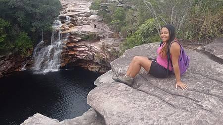 Rio Mucugezinho e Poço do Diabo - Momento coragem