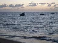 Amanhecer na praia de São José