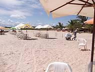Paradisíaca Praia da Foz do Sauipe