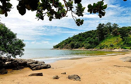 Praia do Condomínio - Águas calmas e tranquilidade