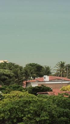 Vista do hotel: linda praia de Ponta Negra