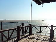 Encontro do Rio Tapajós com Rio Amazonas