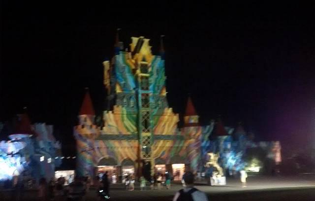 Castelo das Nações à Noite