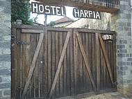Entrada do albergue