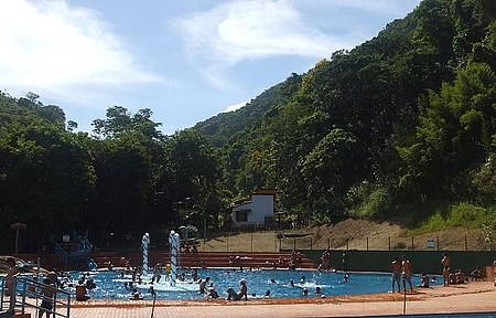 Parque das Cachoeiras - Piscina