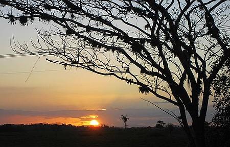 Estrada Linhares x Pontal do Ipiranga - Por do sol.