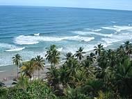 Mirante da praia de Itacarezinho