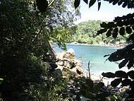Praia do Cachadaço vista de cima
