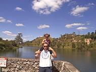 Lago ao Fundo