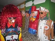 Caboclo de Lan�a, Luiz Gonzaga e Chacrinha dividem o espa�o