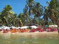 Descanso na Praia do Gunga