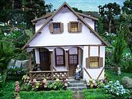 Parece uma casa real, não parece?