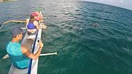 Passeio de canoa hawaiana