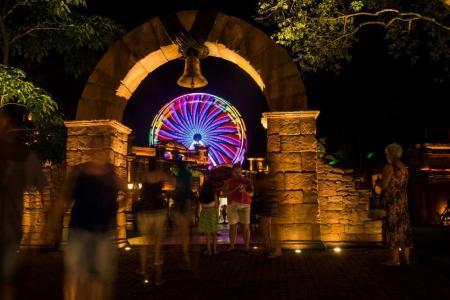 Roda-gigante em Foz do Iguaçu (PR) - Roda-gigante é atração no verão 2018!