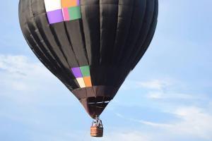 De balão em Brotas (SP)