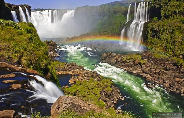 A melhor vista das cataratas, passarela do lado Brasileiro!