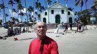 Capela de São Benedito na Praia de Carneiros