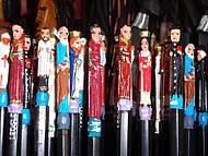 Lápis trabalhados artesanalmente, ótimas compras!