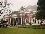 O acervo do museu é constituído por peças ligadas à monarquia brasileira