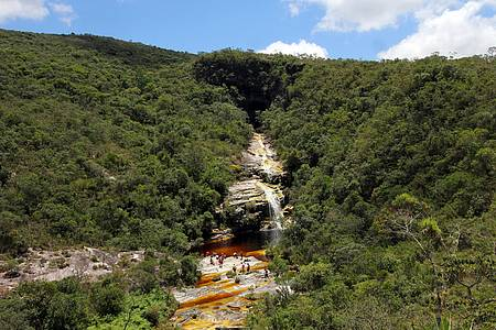 Cachoeiras - Cachoeira dos Macacos: Queda é uma das mais procuradas