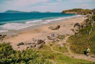 Praia Brava é uma das atraçoes