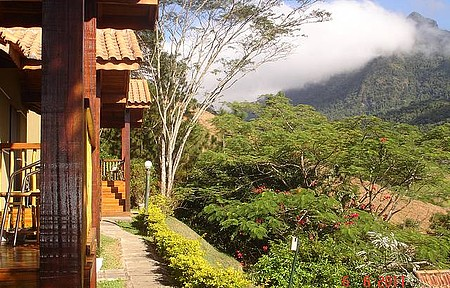 Pousada Serra da India - Céu azul e clima ameno