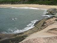 Vista de Cima das Rochas