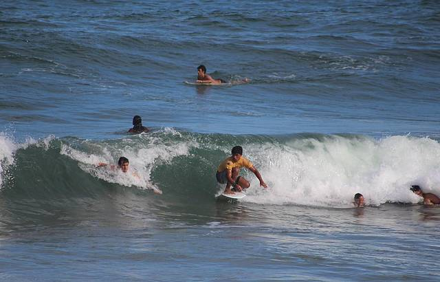 Tiririca a Praia do Surf