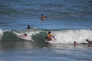 Tiririca a Praia do Surf