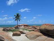 Praia do coqueiro solit�rio