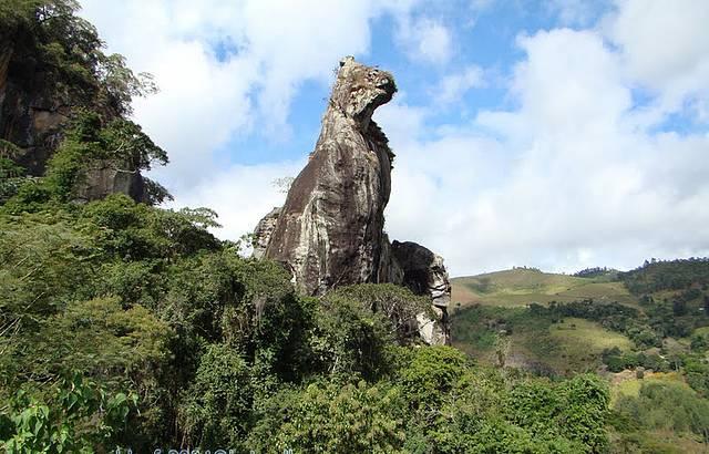 Pedra do C�o Sentado - Nova Friburgo