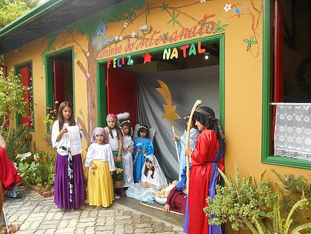 Caminho do Artesanato - Presépio Vivo em Dezembro 2015