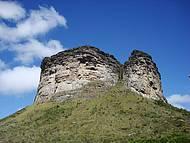 Morro do Pai Inácio visto de baixo
