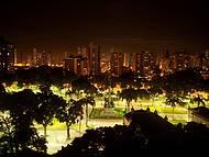 Visão noturna de minha janela
