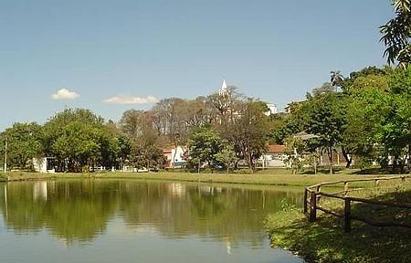 Praça Central - Linda estância hidromineral