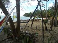 Vista da barraca