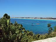 Praia do Forte vista do Forte São Matheus