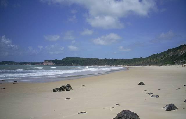 Rochas na Praia de Pipa