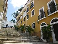 Escadaria na Rua do Giz
