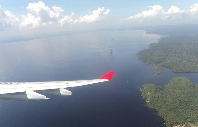 Chegada em Manaus.